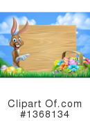 Royalty-Free (RF) Easter Clipart Illustration #1368134