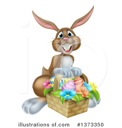 Rabbit Clipart #1373350 by AtStockIllustration