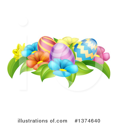 Easter Egg Clipart #1374640 by AtStockIllustration
