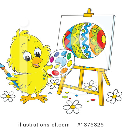 Chick Clipart #1375325 by Alex Bannykh