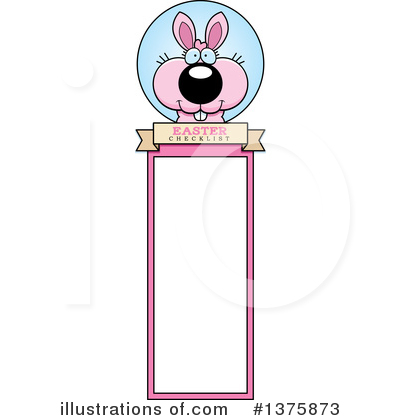 Easter Bunny Clipart #1375873 by Cory Thoman