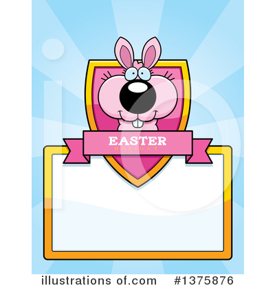Easter Bunny Clipart #1375876 by Cory Thoman