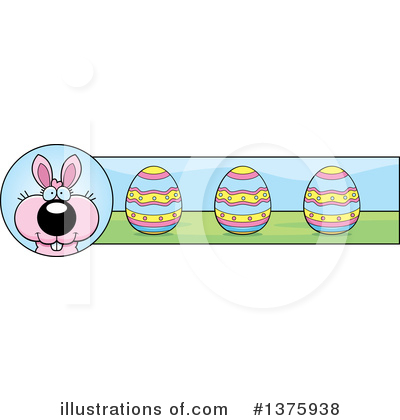 Easter Bunny Clipart #1375938 by Cory Thoman