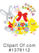 Royalty-Free (RF) Easter Clipart Illustration #1378112