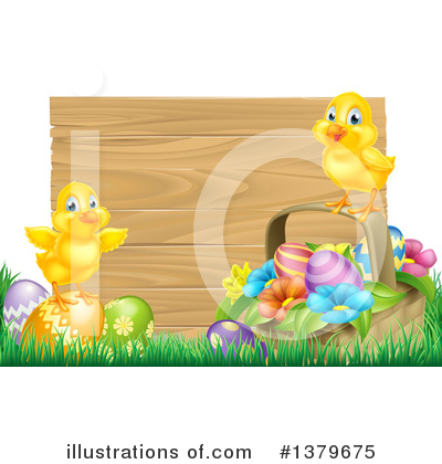 Chick Clipart #1379675 by AtStockIllustration