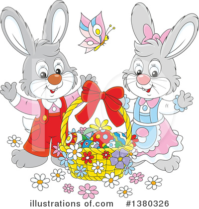 Easter Clipart #1380326 by Alex Bannykh