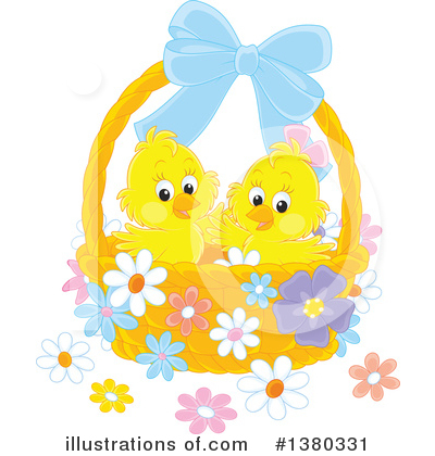 Easter Clipart #1380331 by Alex Bannykh