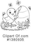 Royalty-Free (RF) Easter Clipart Illustration #1380935