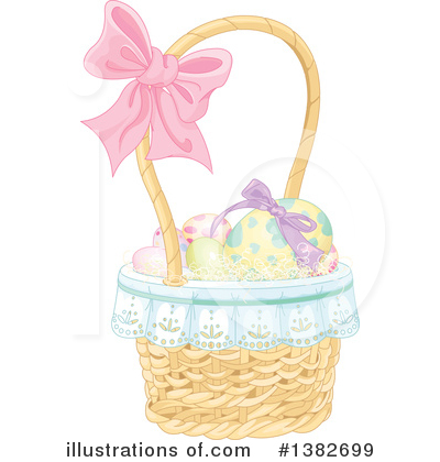 Easter Basket Clipart #1382699 by Pushkin