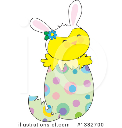 Royalty-Free (RF) Easter Clipart Illustration by Maria Bell - Stock Sample #1382700