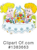 Royalty-Free (RF) Easter Clipart Illustration #1383663