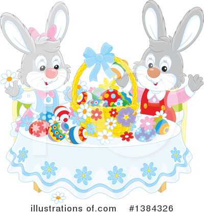 Easter Clipart #1384326 by Alex Bannykh