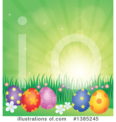 Easter Clipart #1385245 by visekart