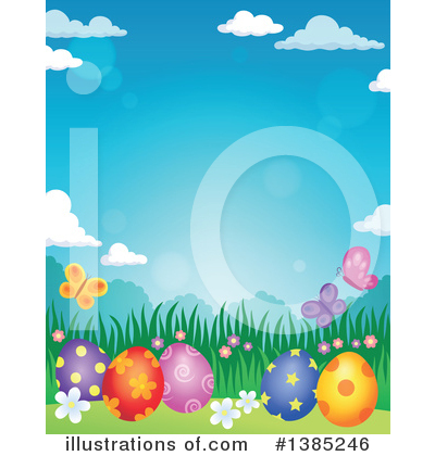 Easter Clipart #1385246 by visekart