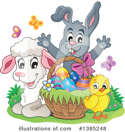 Rabbit Clipart #1385248 by visekart