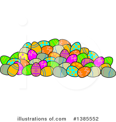 Royalty-Free (RF) Easter Clipart Illustration by Dennis Cox - Stock Sample #1385552