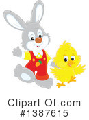 Royalty-Free (RF) Easter Clipart Illustration #1387615