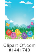 Easter Clipart #1441740 by visekart