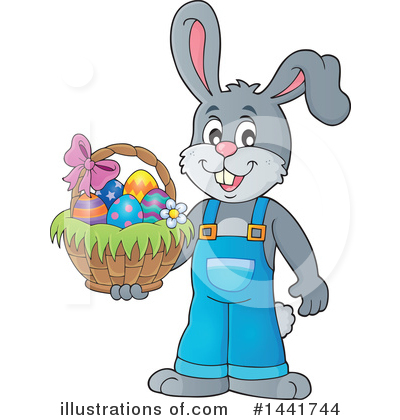 Rabbit Clipart #1441744 by visekart