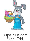 Royalty-Free (RF) Easter Clipart Illustration #1441744