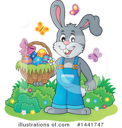 Rabbit Clipart #1441747 by visekart