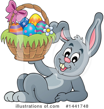 Rabbit Clipart #1441748 by visekart