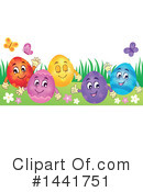 Royalty-Free (RF) Easter Clipart Illustration #1441751