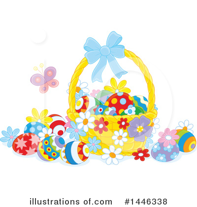 Easter Clipart #1446338 by Alex Bannykh