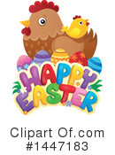 Royalty-Free (RF) Easter Clipart Illustration #1447183