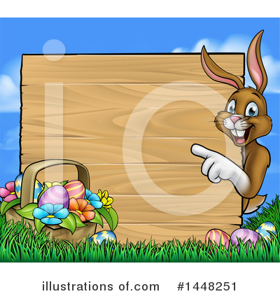 Royalty-Free (RF) Easter Clipart Illustration by AtStockIllustration - Stock Sample #1448251