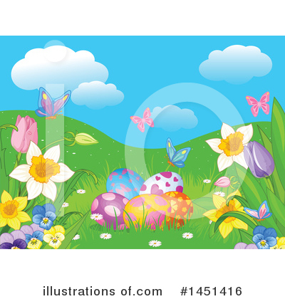 Easter Clipart #1451416 by Pushkin