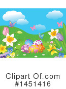 Royalty-Free (RF) Easter Clipart Illustration #1451416