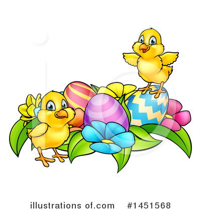 Easter Egg Clipart #1451568 by AtStockIllustration