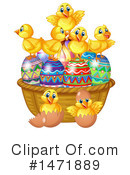 Royalty-Free (RF) Easter Clipart Illustration #1471889