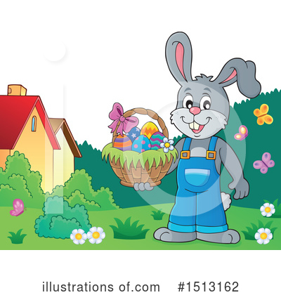 Easter Bunny Clipart #1513162 by visekart