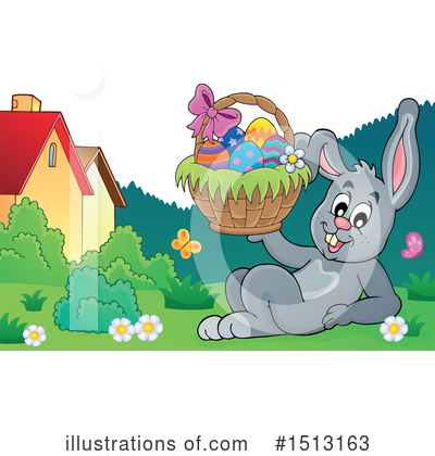Easter Bunny Clipart #1513163 by visekart