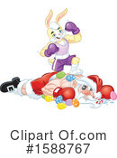Easter Clipart #1588767 by Lawrence Christmas Illustration