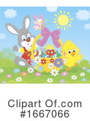 Easter Clipart #1667066 by Alex Bannykh