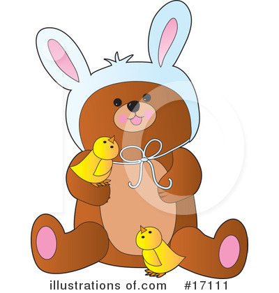 Teddy Bear Clipart #17111 by Maria Bell
