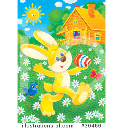 Easter Clipart #30466 by Alex Bannykh