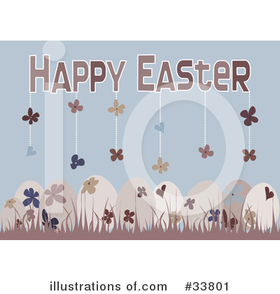 Easter Eggs Clipart #33801 by suzib_100