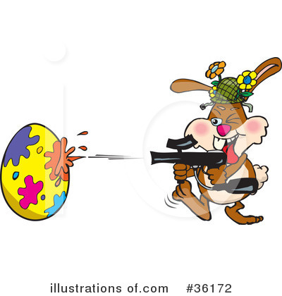 Paintball Clipart #36172 by Dennis Holmes Designs