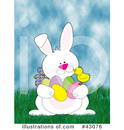 Royalty-Free (RF) Easter Clipart Illustration by Maria Bell - Stock Sample #43076