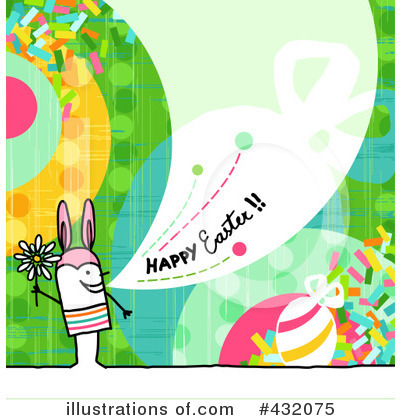 Royalty-Free (RF) Easter Clipart Illustration by NL shop - Stock Sample #432075