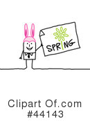 Royalty-Free (RF) Easter Clipart Illustration #44143