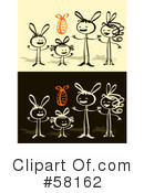 Royalty-Free (RF) Easter Clipart Illustration #58162