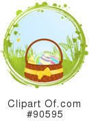 Royalty-Free (RF) Easter Clipart Illustration #90595