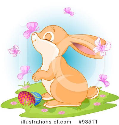 Rabbit Clipart #93511 by Pushkin