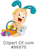 Royalty-Free (RF) Easter Clipart Illustration #96970
