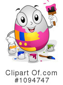 Royalty-Free (RF) Easter Egg Clipart Illustration #1094747